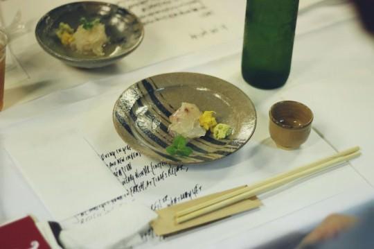 唐津焼と豊かな食材。