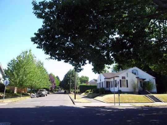 North Eastの住宅街
