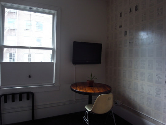 ACE HOTELの内観。1部屋ずつデザインが違うのも、人気な理由の1つだ。