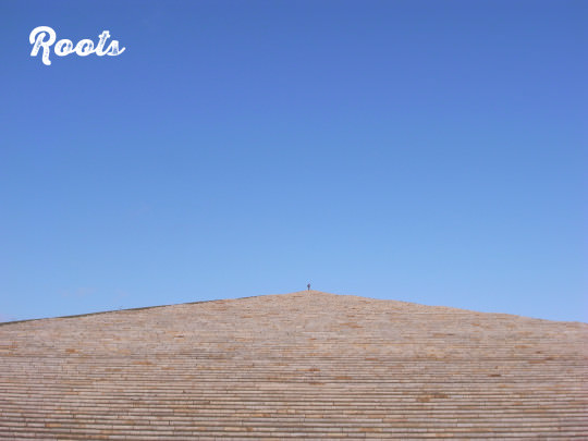 2012年4月に訪れたイサムノグチ設計のモエレ沼公園(札幌)