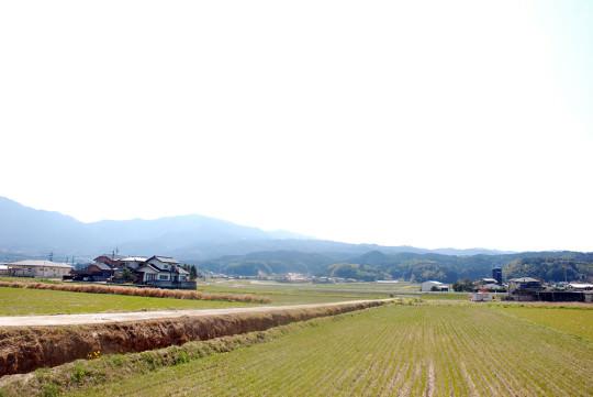 嘉麻市の豊かな農村風景