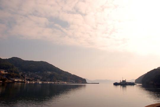 港沿いに広がる豊かな風景
