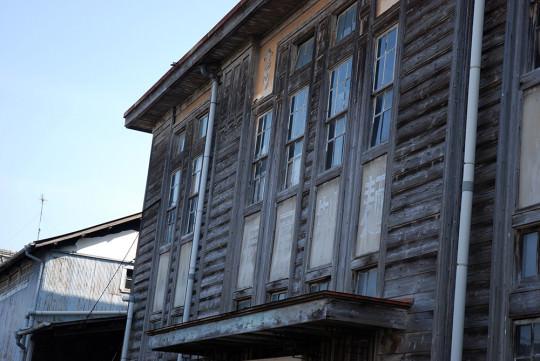 長尾製麺の旧工場