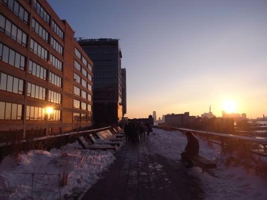 NYのHIGH LINE.たった2人の市民の夢から実現した軌道敷の公園。