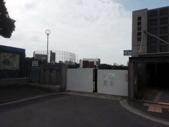 新国立競技場建設現場