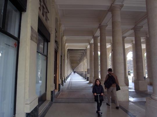 パレ・ロワイヤルの美しい回廊
