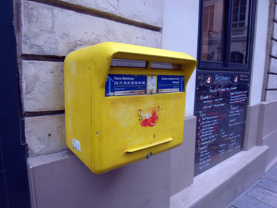 可愛いパリのPOST