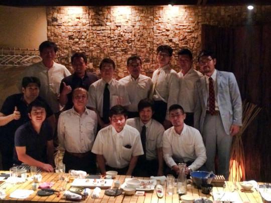 酒販店の若手と寒北斗酒造によるTEAM30