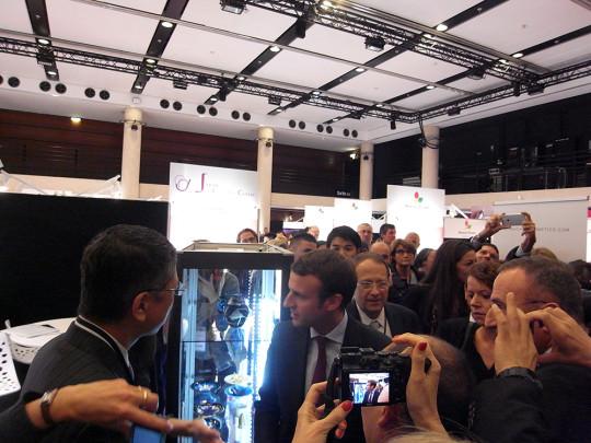 COSMETIC360/フランスの経済産業大臣も唐津焼に興味津々