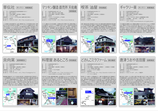 唐津建築遺産MAP裏面