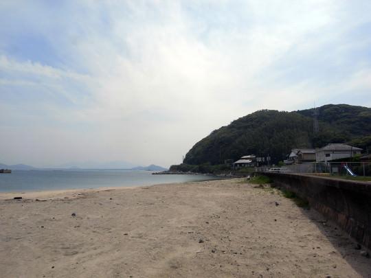 北崎の海岸線の風景