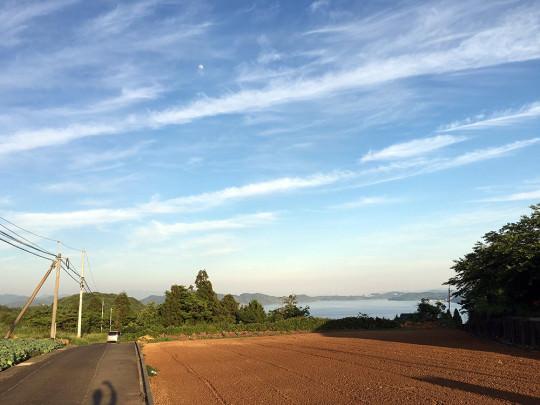 俵ヶ浦半島の日常の風景、いつも癒される。