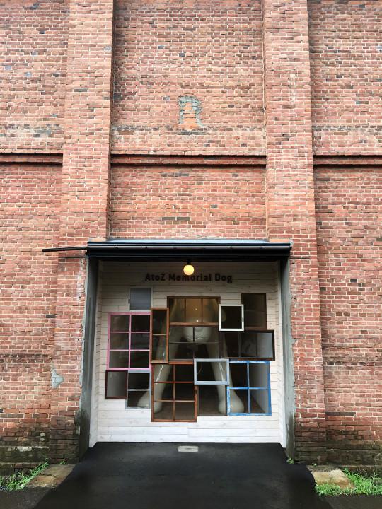 赤レンガ倉庫には見たかった奈良美智さんの作品が。