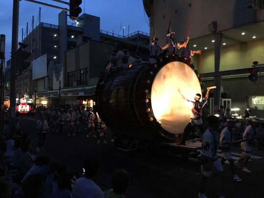 ねぷた祭りの大太鼓